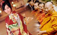 La donna e i monaci